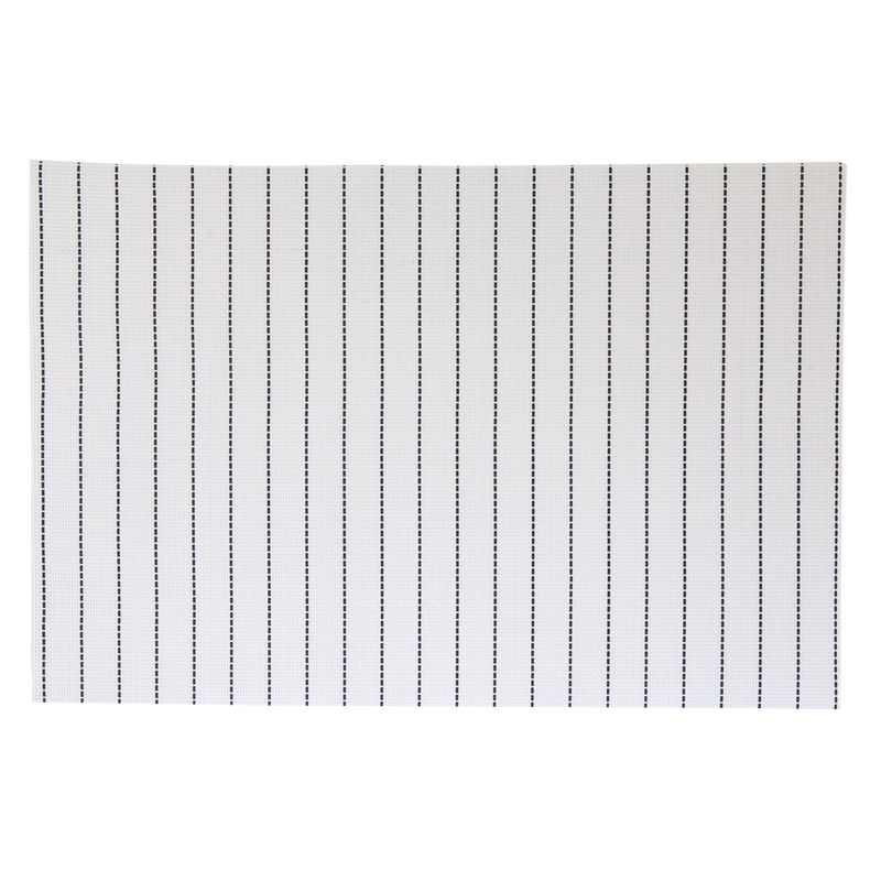 Набор индивидуальных салфеток Линия цвет белый (4 шт.) 30х45см