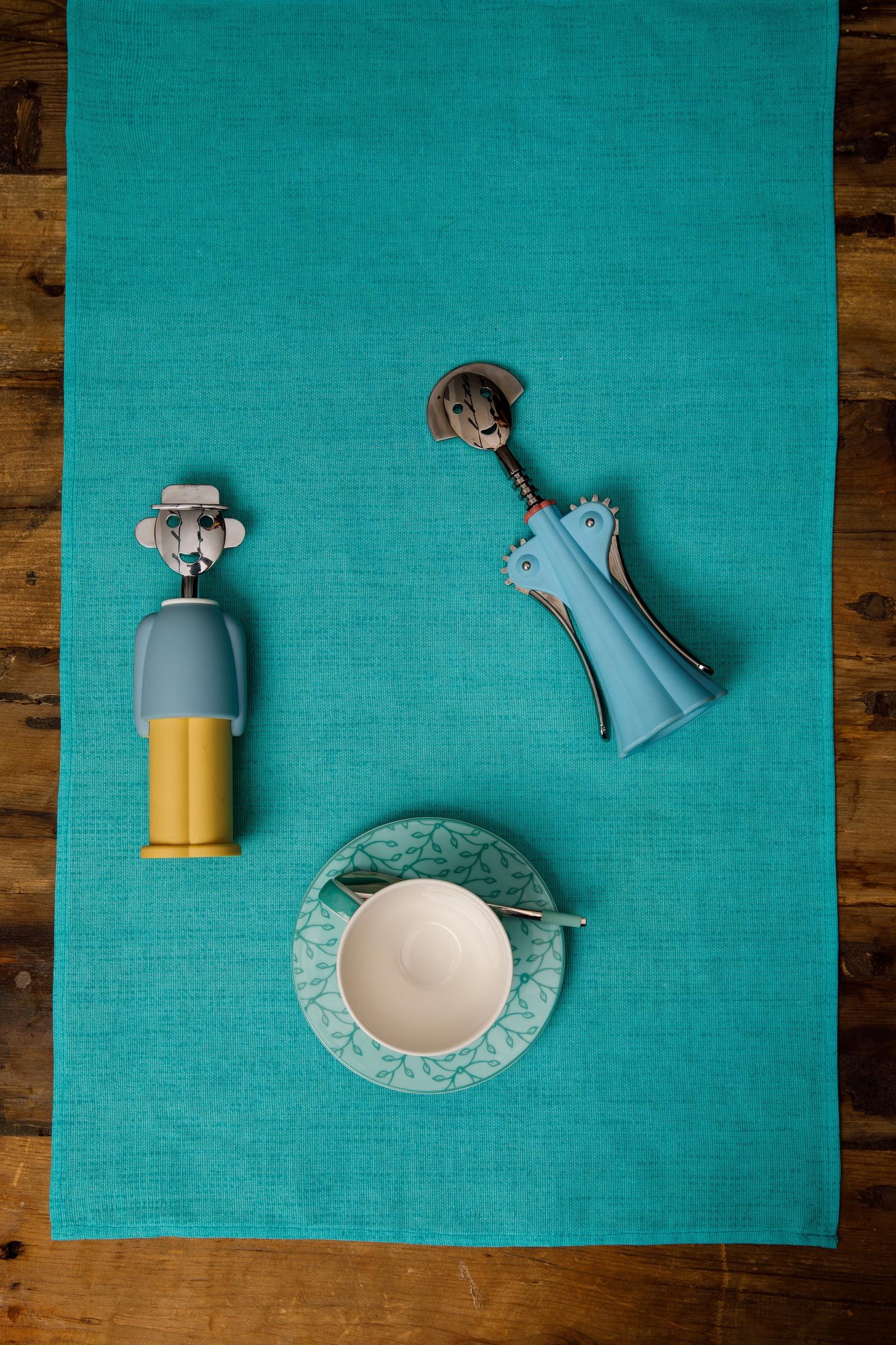 Набор полотенец кухонных Мари Санна Бирюза 7900-2 набор кухонных ножей 3 шт 7941 clasica серия clasica