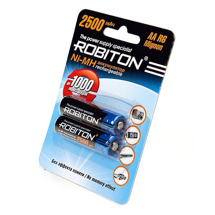Батарейка Robiton 2500MHAA-2 BL2, 8793