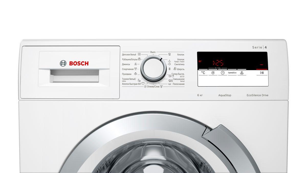 Стиральная машина Bosch WLL24146OE, белый Bosch