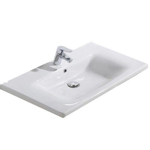 лучшая цена Раковина Belbagno Luxury/Soft 12080-KL, Белый
