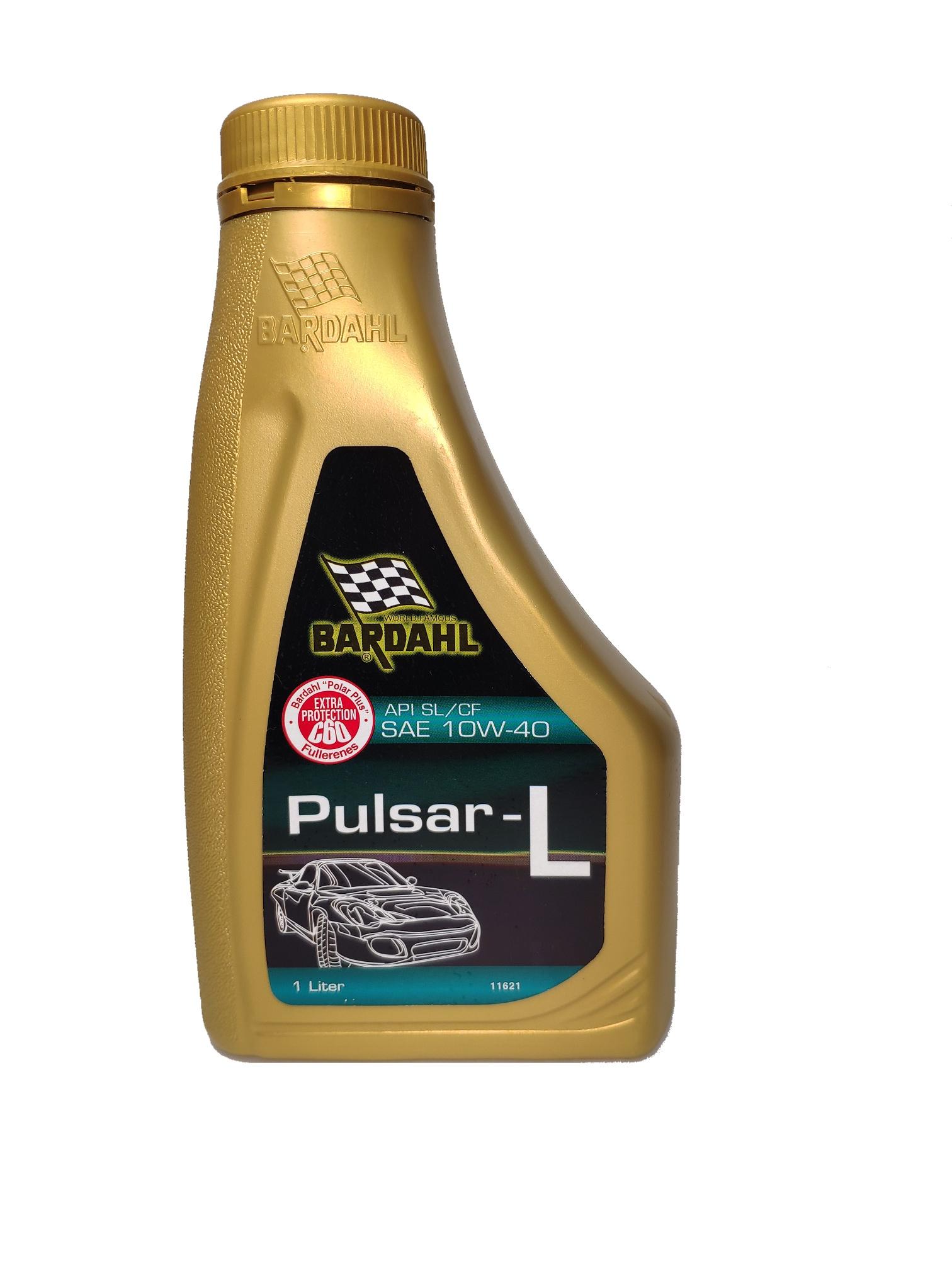 все цены на Масло моторное SAE 10W-40 (Pulsar-L) API SL/CF (полусинтетическое) с содержанием Polar Plus и Fullerene C60 1л онлайн
