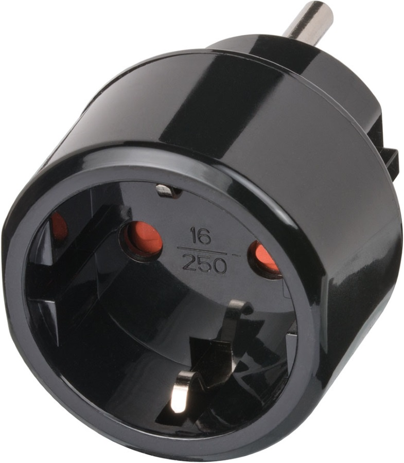 1508550 Brennenstuhl адаптер-переходник Европа/США аксессуар переходник adapter разборный европа америка япония ipad