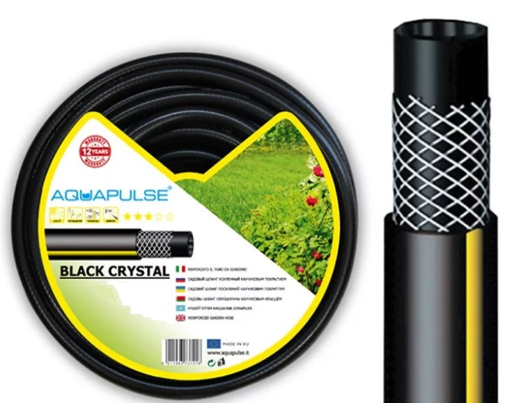 "Шланг Aquapulse BLACK CRISTAL d3/4"" 25м"