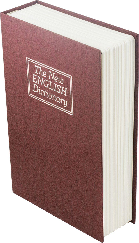 Книга-сейф Эврика Английский словарь, цвет: красный. 94791 ключ эврика er 20632
