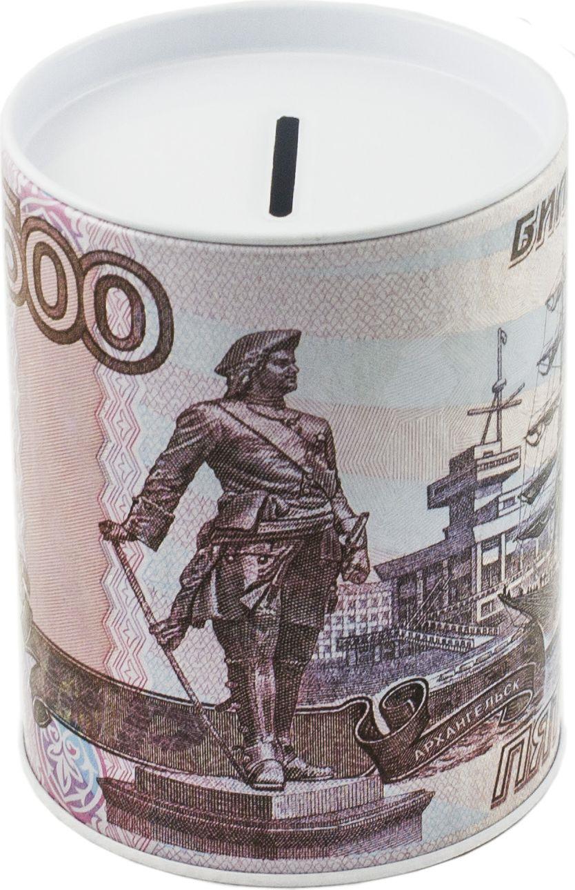 Копилка-банка Эврика 500 рублей скейтборд 500 рублей
