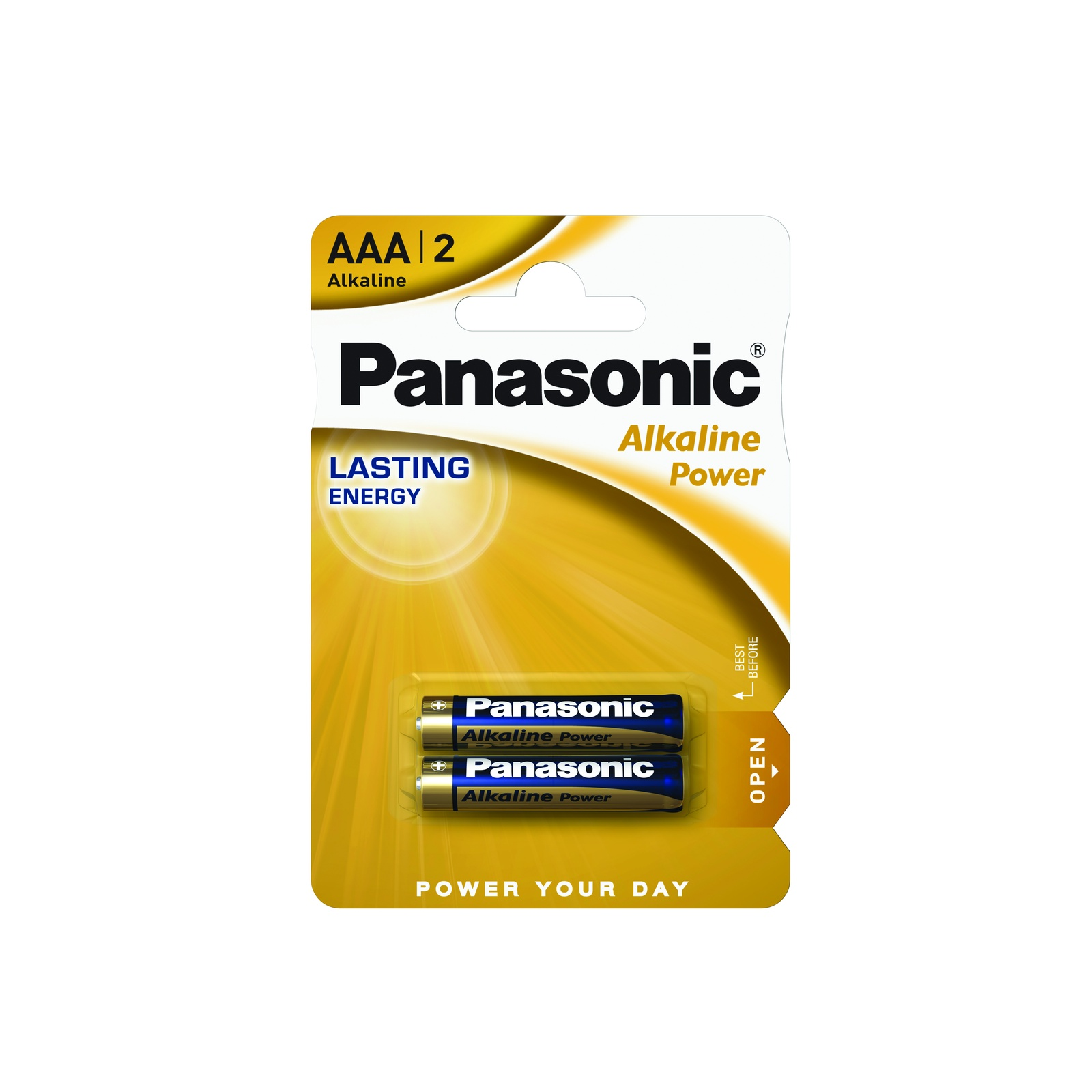 цена Panasonic Аlkaline Power AAA (LR03) 2 шт.