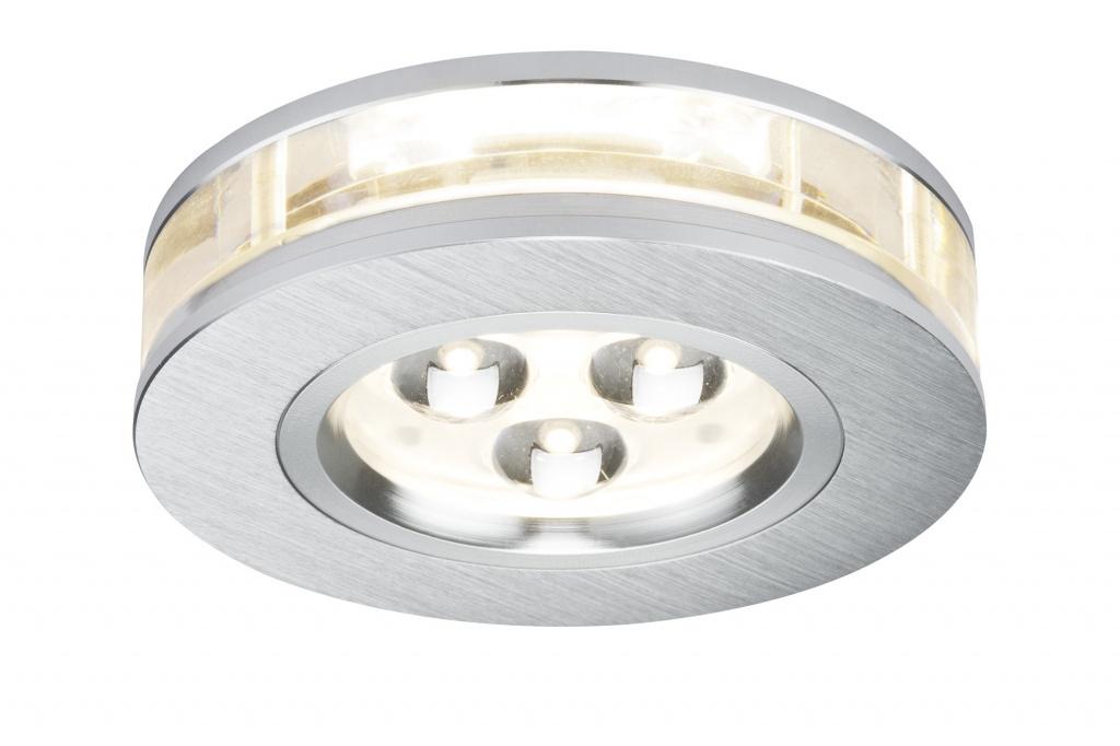Встраиваемый светильник Liro rund LED 3x3W Alu-g цена