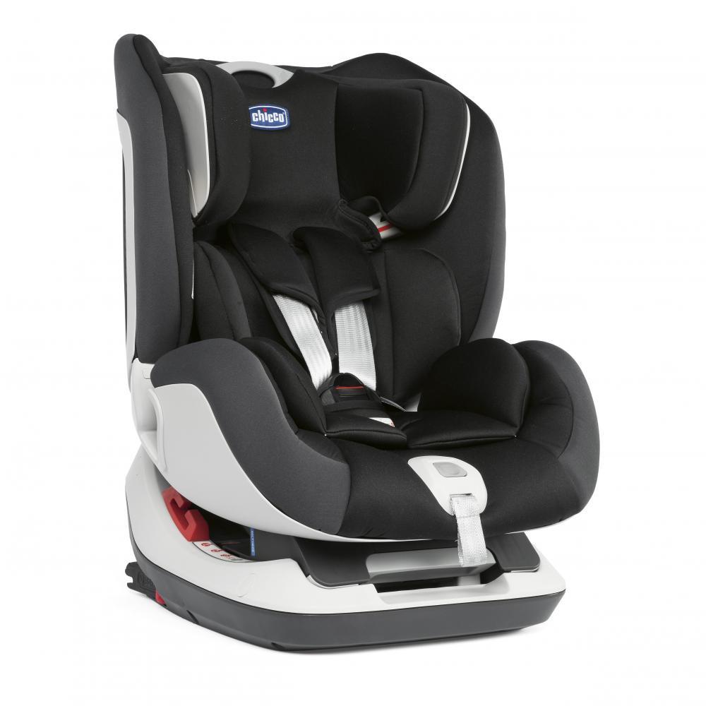 Chicco Автокресло SEAT UP гр.0/1/2 цв. JET BLACK автокресло 1 группы
