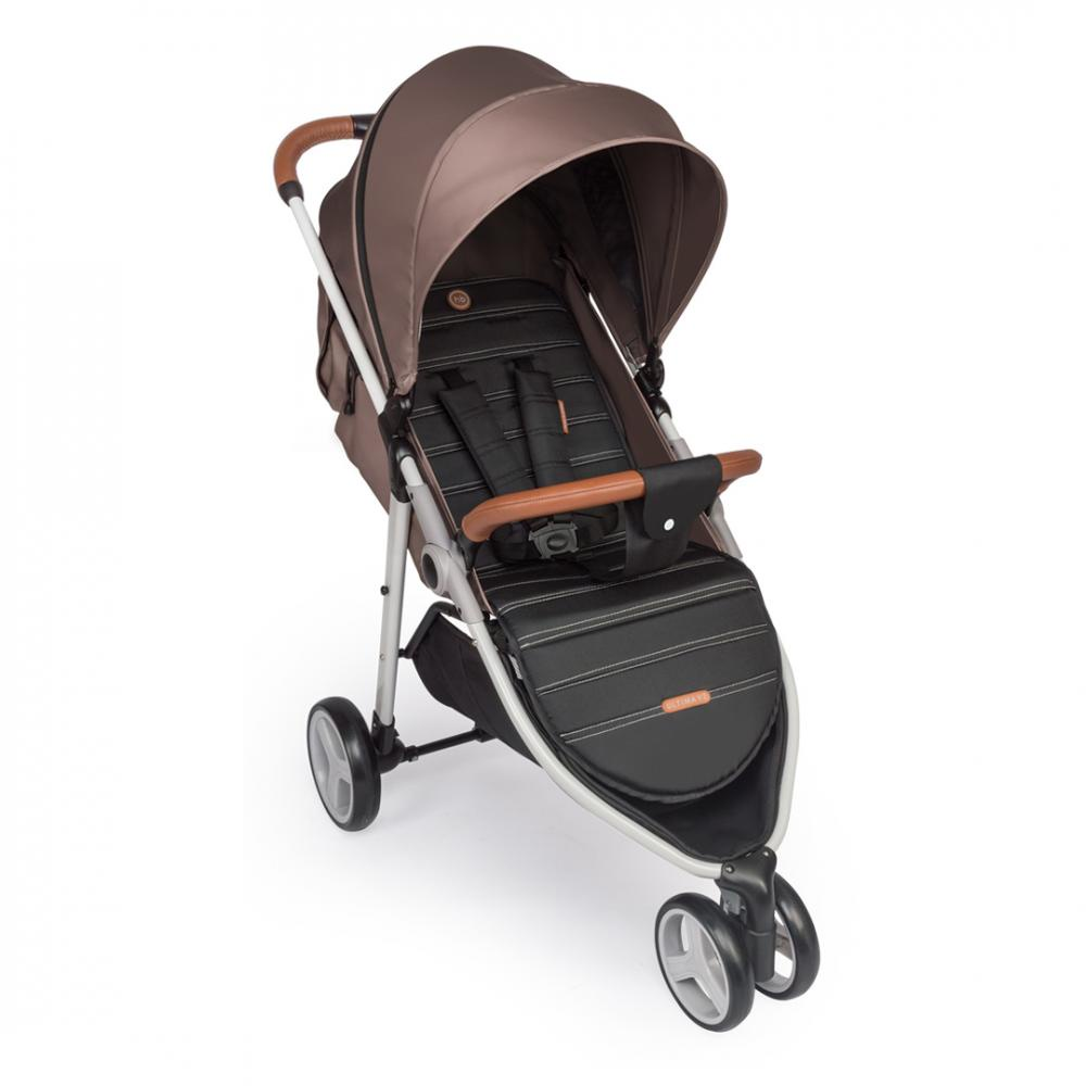 Happy Baby Коляска прогулочная ULTIMA V2 коричневый