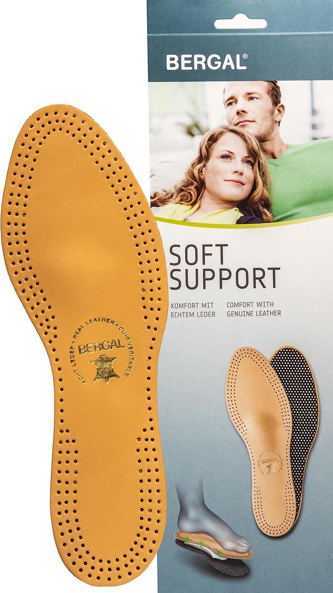 Стельки профилактические BERGAL SOFT SUPPORT размер 39