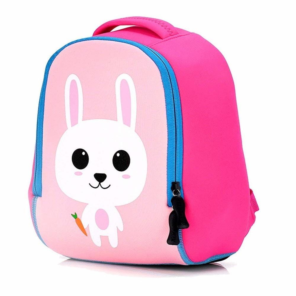 Рюкзак детский-Зайчик розовый