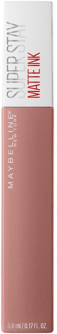Жидкая губная помада Maybelline New York Super Stay Matte Ink, суперстойкая, тон 60 поэт, 5 мл