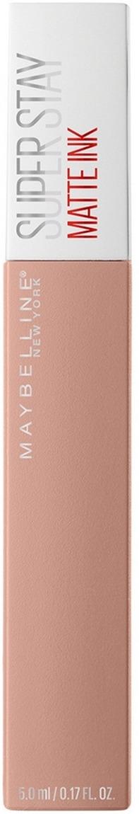 Жидкая губная помада Maybelline New York Super Stay Matte Ink, суперстойкая, тон 55 driver, 5 мл