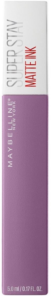 Жидкая губная помада Maybelline New York Super Stay Matte Ink, суперстойкая, тон 100 philosopher, 5 мл