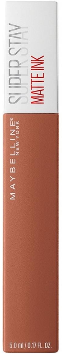 Жидкая матовая помада для губ Maybelline New York Super Stay Matte Ink, суперстойкая, оттенок 75, Fighter, 5 мл