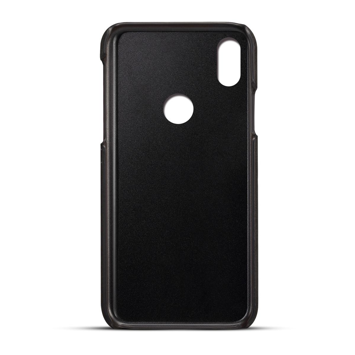 Xiaomi Mi A2 Lite / Redmi 6 Pro Назад Чехол для телячьей кожи Pu кожаный чехол для телефона Tpu с гнездами для карточек Защитная крышка для защиты от царапин (1592)