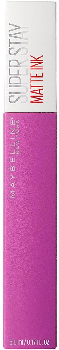 Помада для губ жидкая Maybelline New York Super Stay Matte Ink, матовая, оттенок 35, Создатель, 5 мл