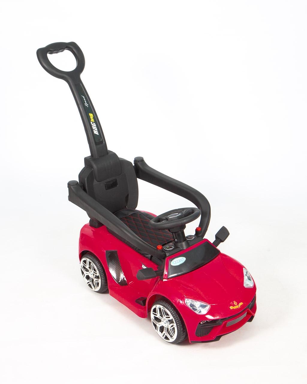 все цены на Толокар -Электромобиль- Каталка (3 в 1) BARTY Lamborghini L001 розовый онлайн