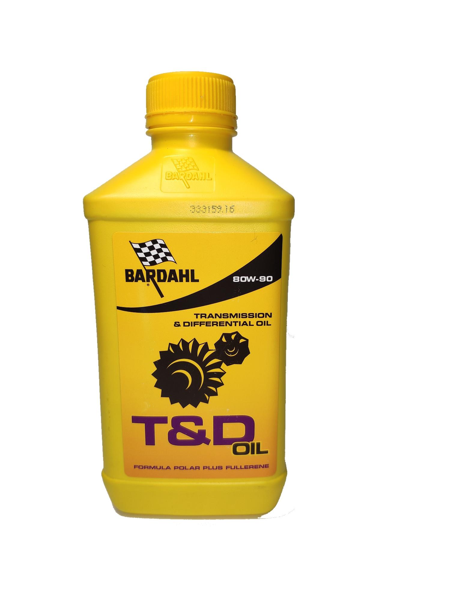 Трансмиссионное масло SAE 80W-90 (T&D) API GL-5/GL-4  для редукторов и механических коробок передач, в том числе и гипоидных передач,  1л