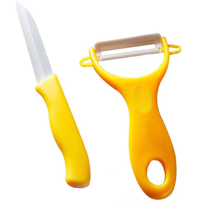 Набор керамический нож и овощечистка