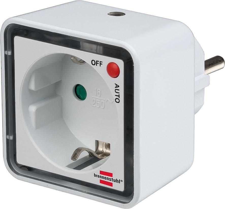 1173270 Brennenstuhl ночник LED, с датчиком освещенности, 1 лм.