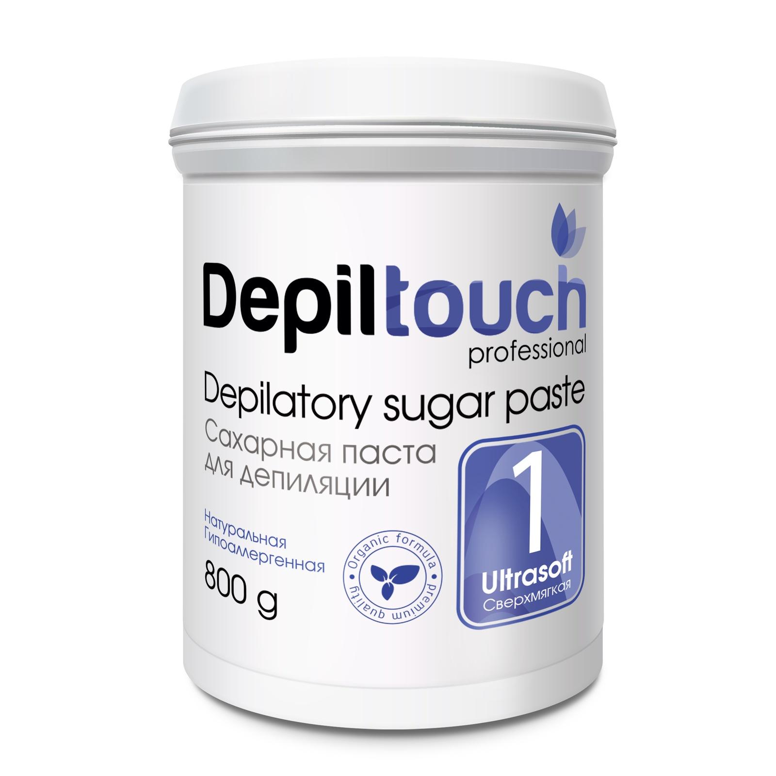 Depiltouch 87707 Сахарная паста для депиляции 1 СВЕРХМЯГКАЯ Depiltouch professional 800г для депиляции