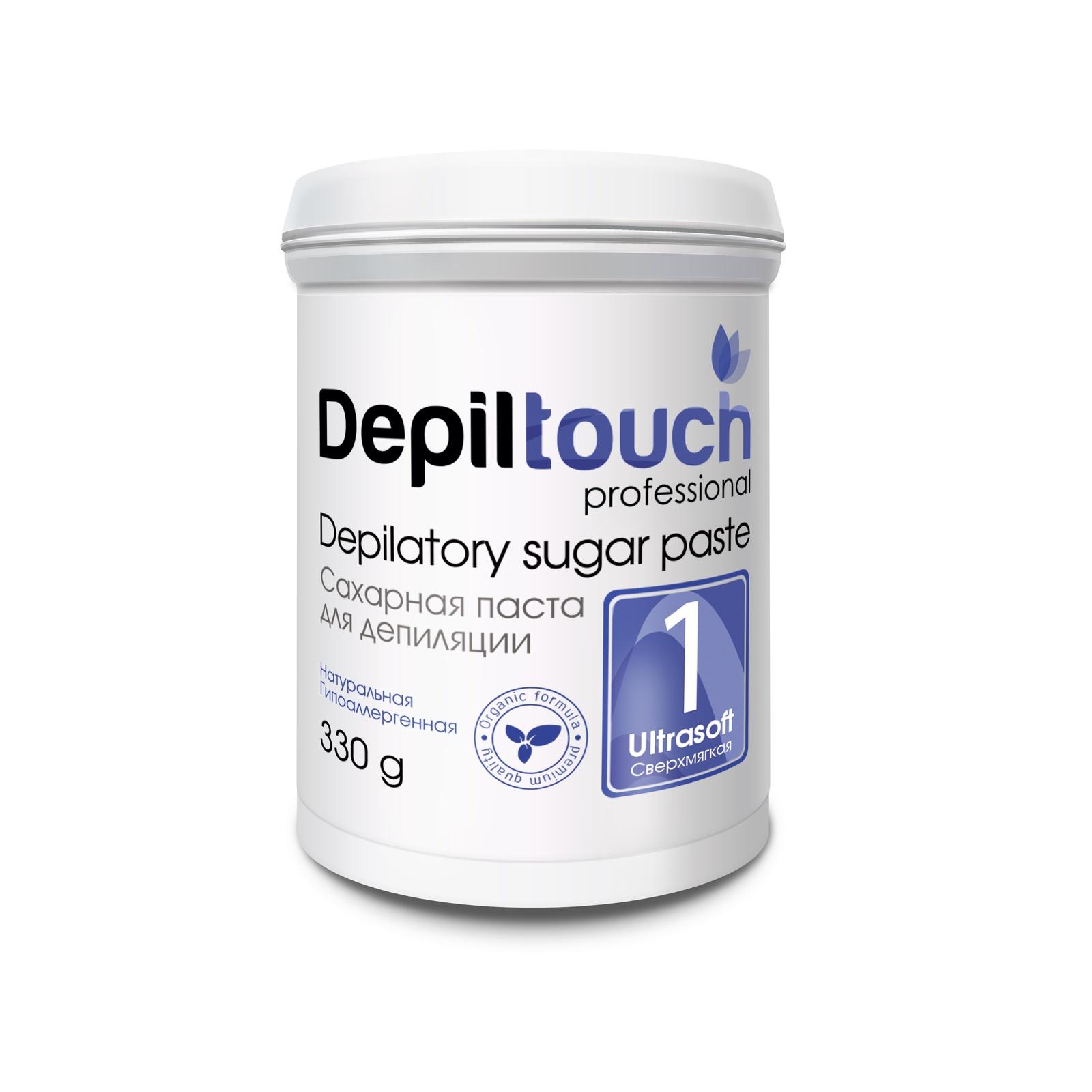 Depiltouch 87702 Сахарная паста для депиляции 1 СВЕРХМЯГКАЯ Depiltouch professional 330г сахарная паста для депиляции jessnail отзывы