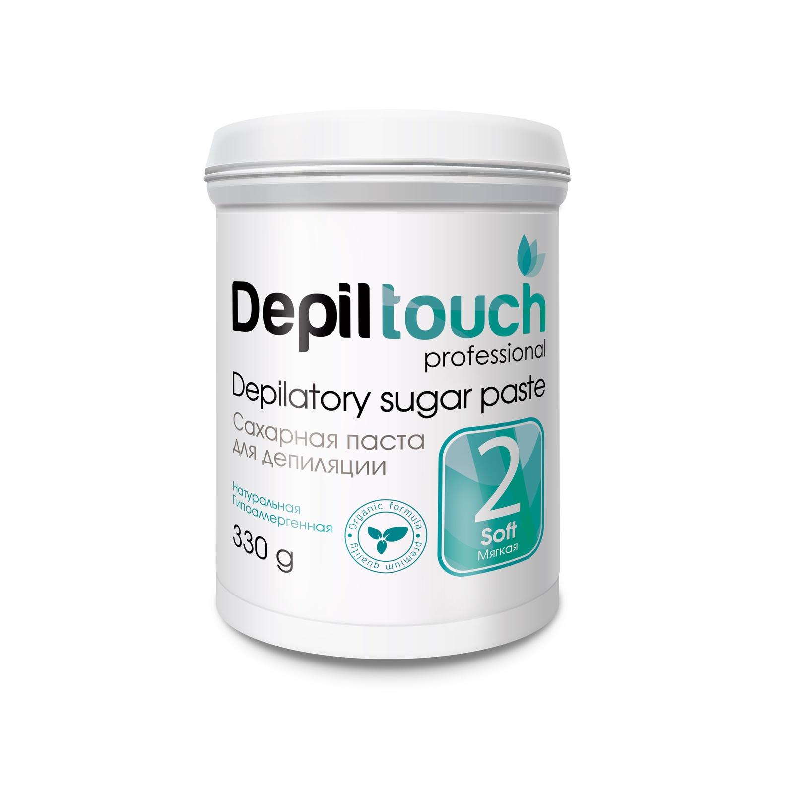 Depiltouch 87703 Сахарная паста для депиляции 2 МЯГКАЯ Depiltouch professional 330г сахарная паста для депиляции jessnail отзывы