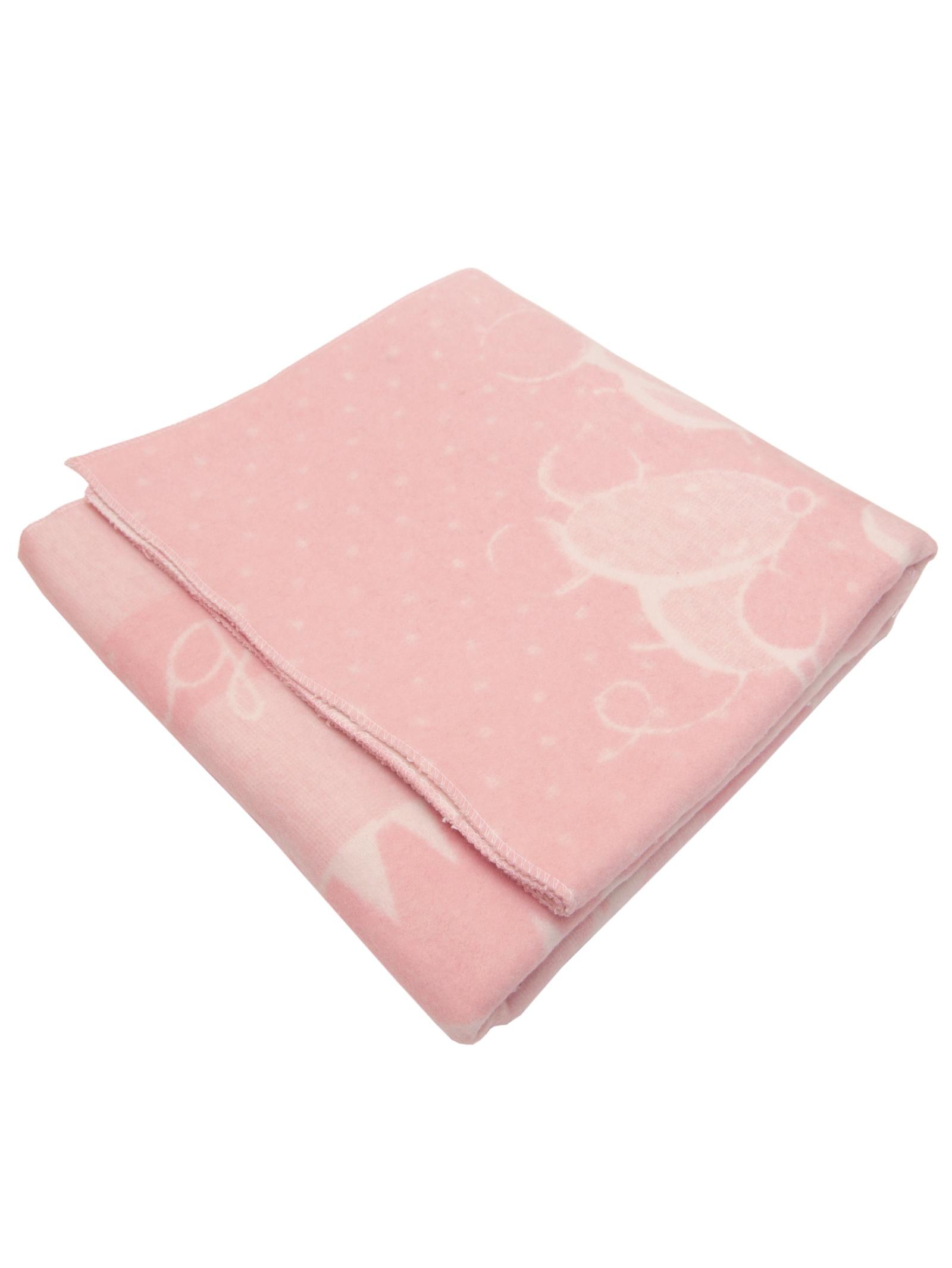 "Одеяло детское ""Микс"" Arloni, 27350.МК.Р, бело-розовый, 100х140 см"