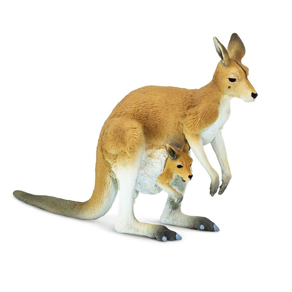 Фигурка Safari Ltd Кенгуру с малышом