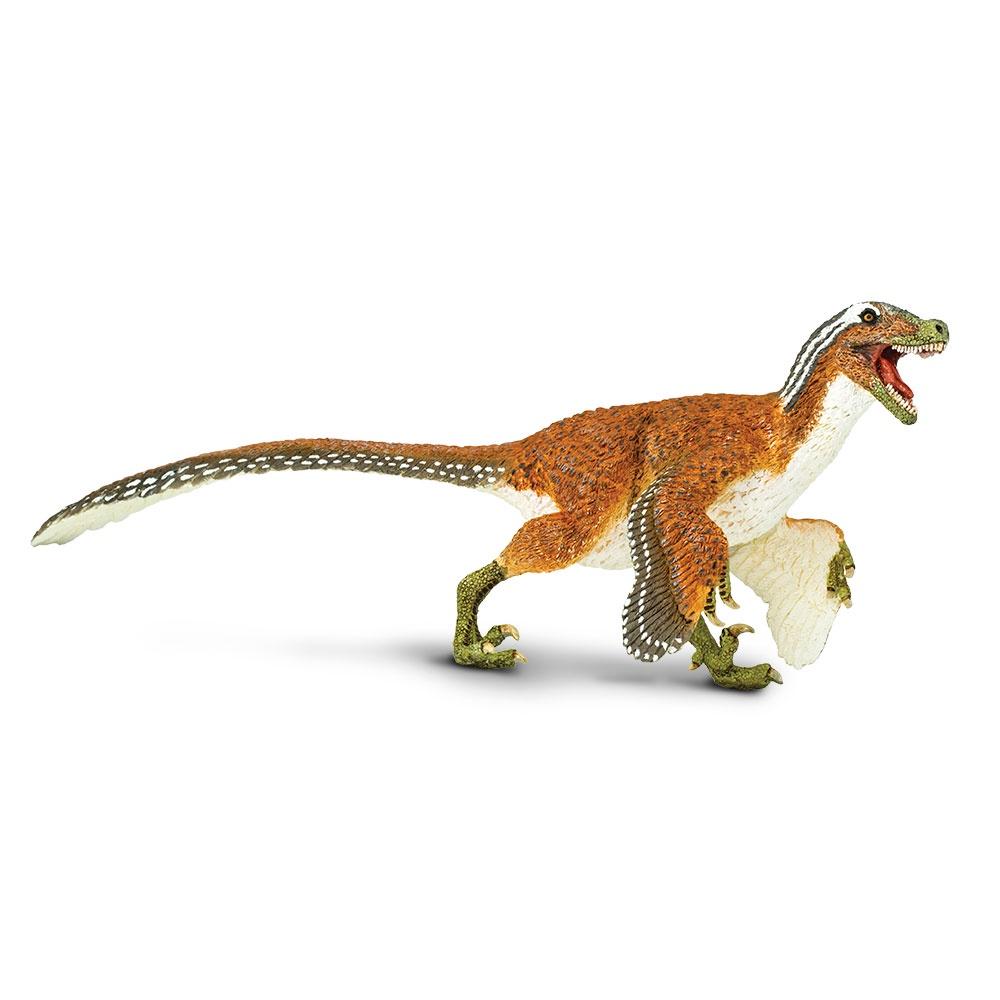 Фигурка динозавра Safari Ltd Велоцираптор с крыльями XL