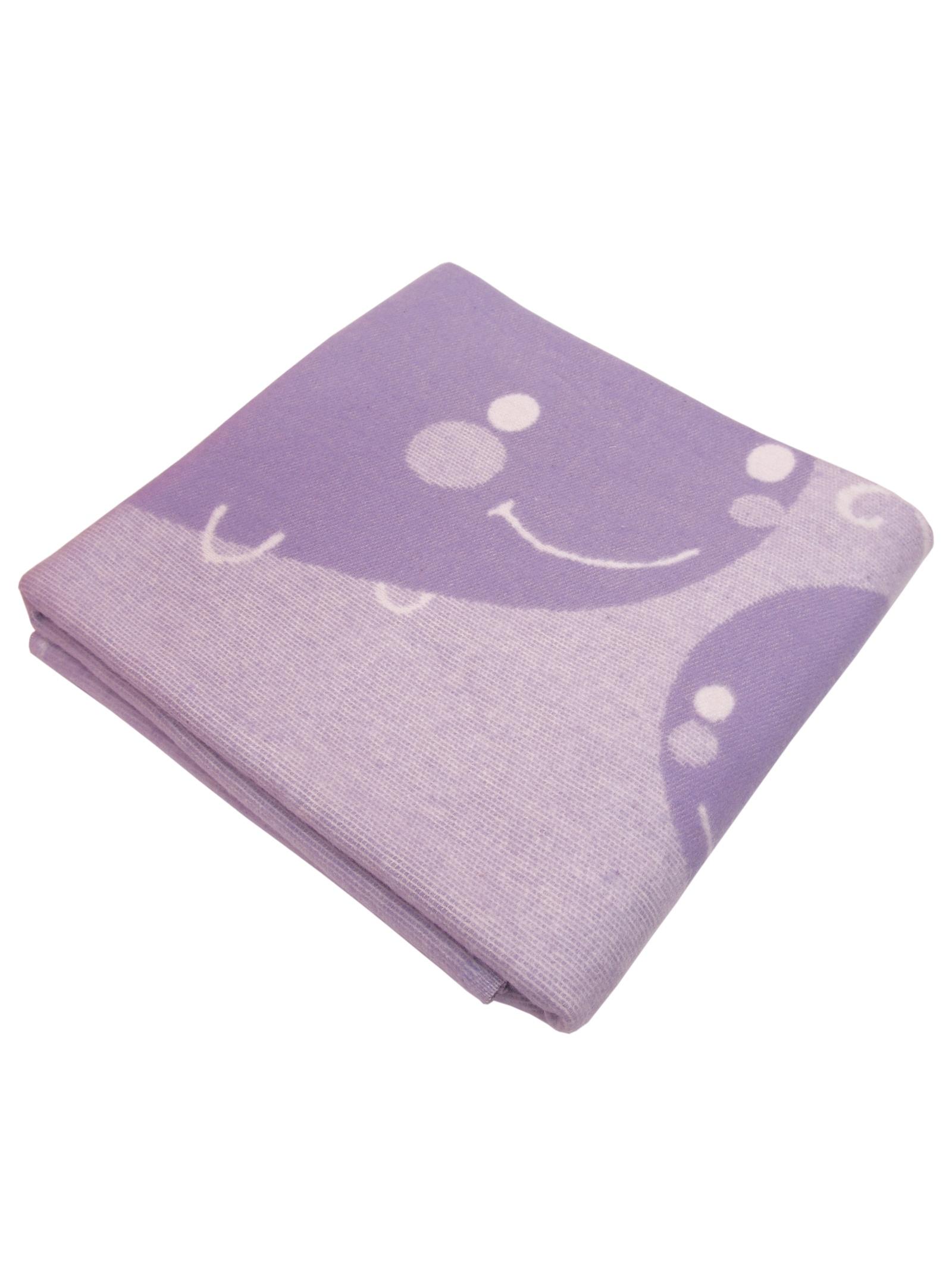 """Одеяло детское """"Кит"""" Arloni, 27380.КТ.СР, сиреневый, 100х140 см"""