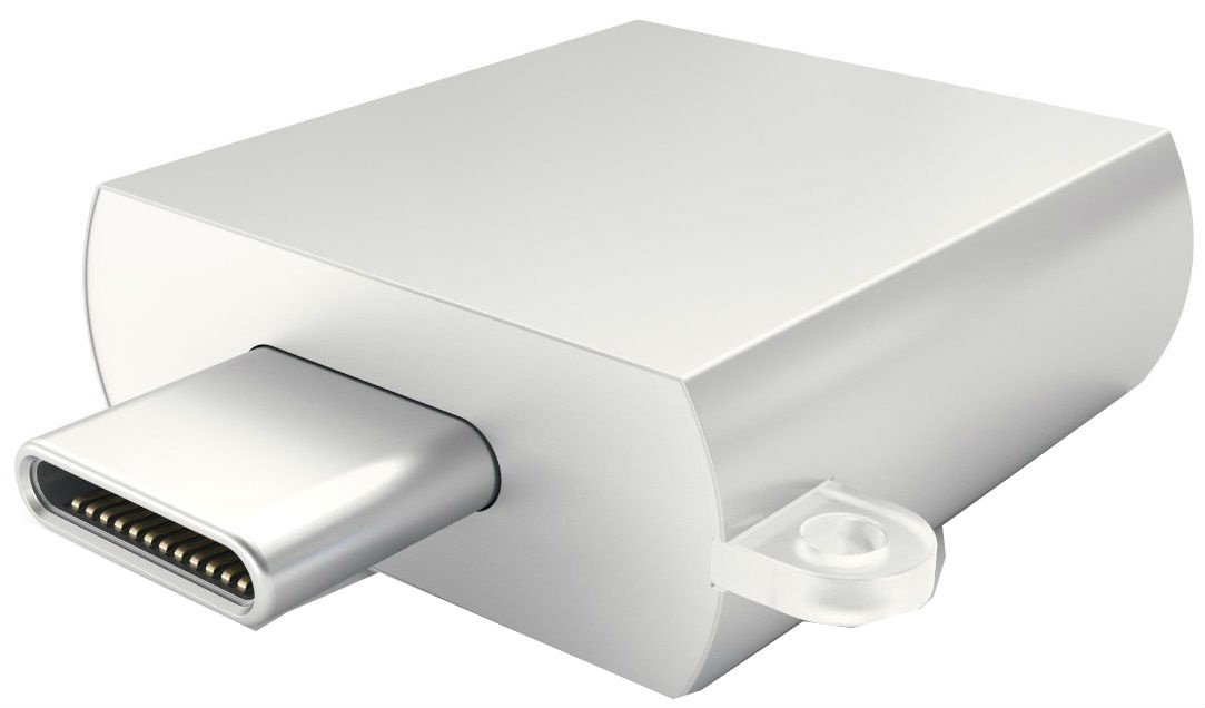 Алюминиевый USB-хаб Satechi Type-C USB 3.0 (silver)