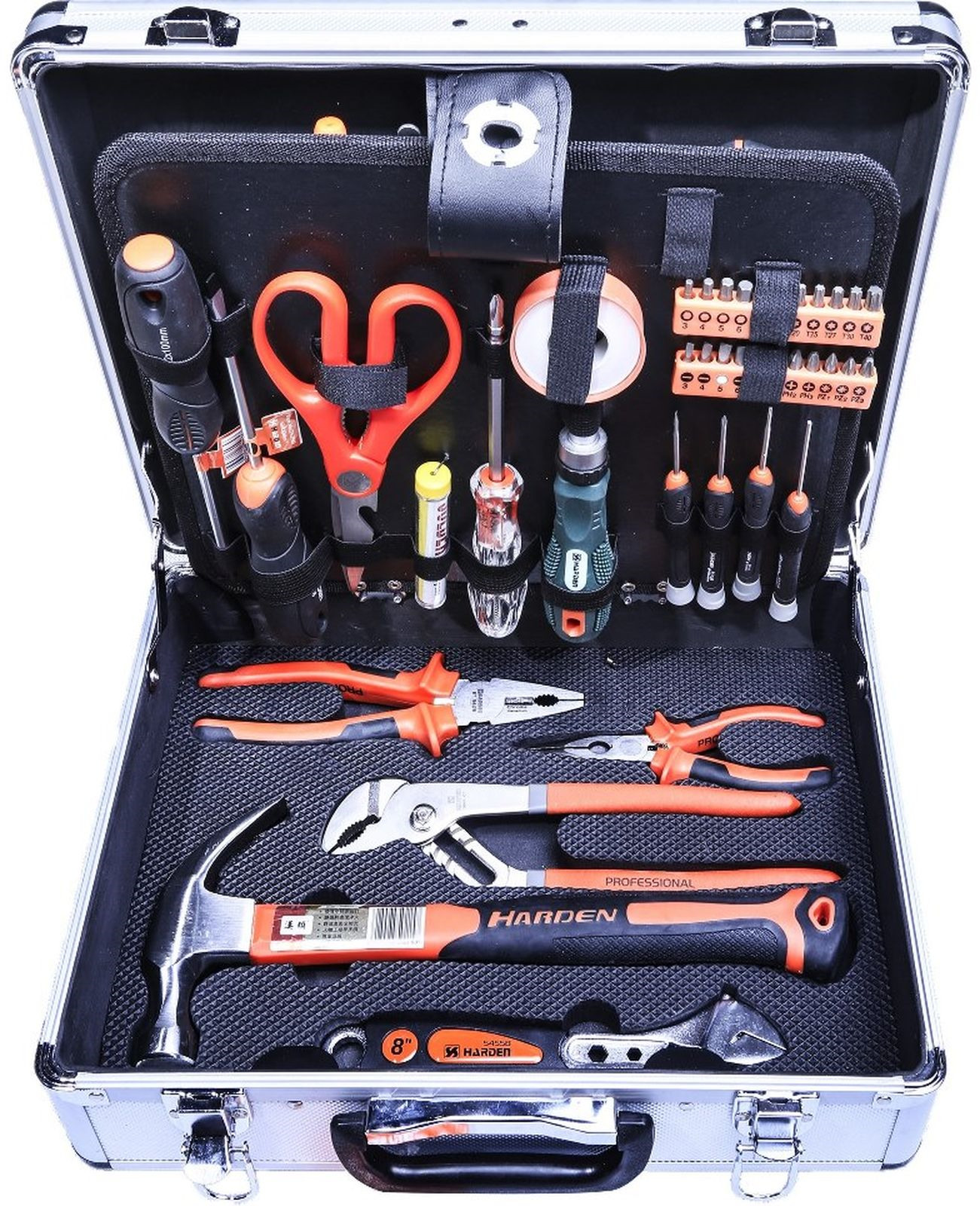 Набор инструментов Harden, 103 предмета стогоff и отвертка