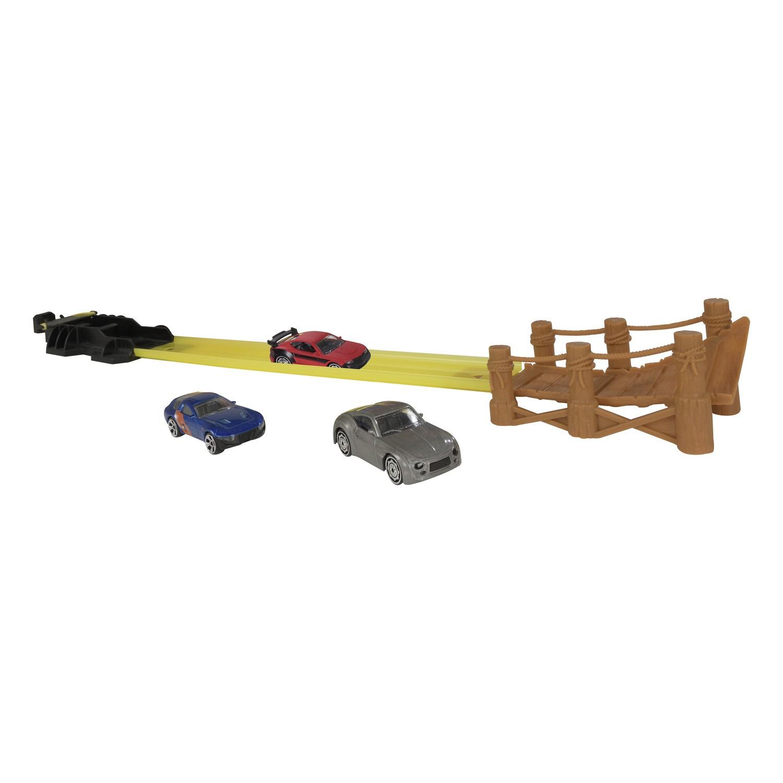 купить Гараж HTI Teamsterz Turbo Twister, с 3 машинками, 1416655.00 по цене 792 рублей