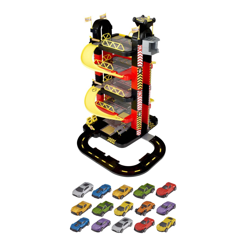 купить Гараж-башня HTI Teamsterz, 5 уровней, с 15 машинками, 1416467.00 по цене 7968 рублей