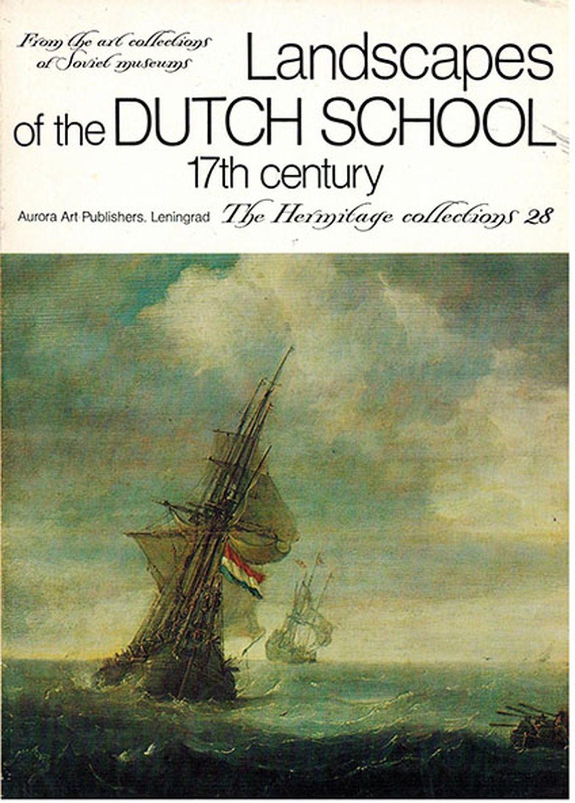 Landscapes of the Dutch School 17th century. The Hermitage collections. 28 / Голландский пейзаж XVII века. Коллекции Эрмитажа. Выпуск 28 (набор из 16 открыток) недорого