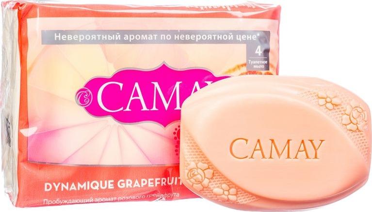 CAMAY Мыло твердое Динамик 4х75г camay мыло твердое динамик 4х75г