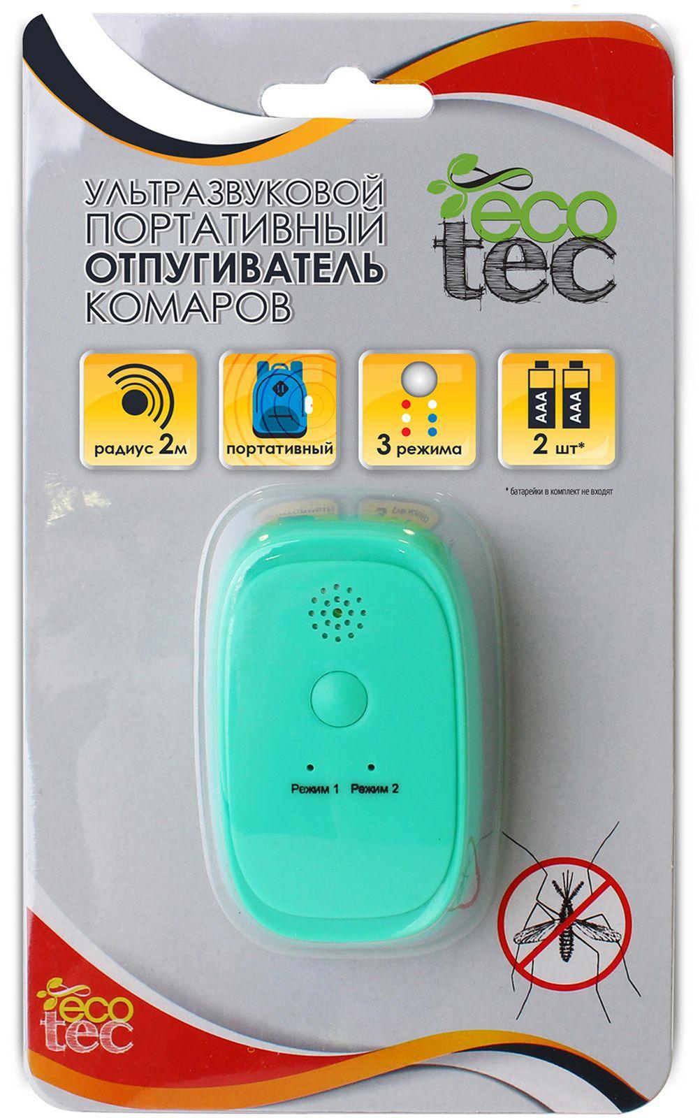 Ультразвуковой портативный отпугиватель комаров Ecotec