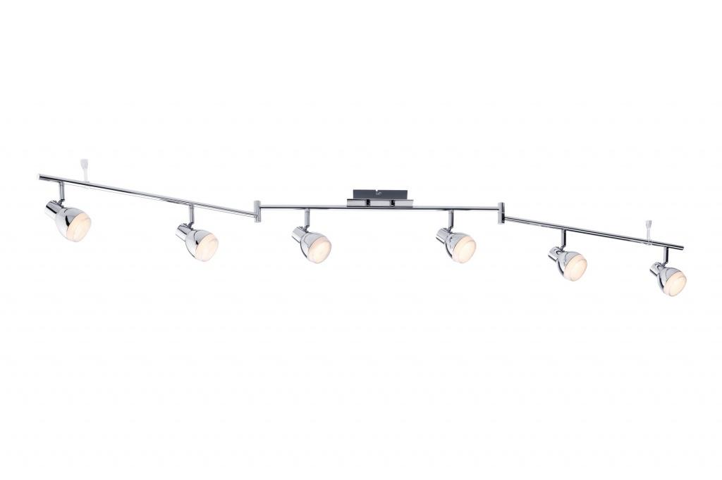 Настенно-потолочный светильник Cetin LED 6x5W, хром