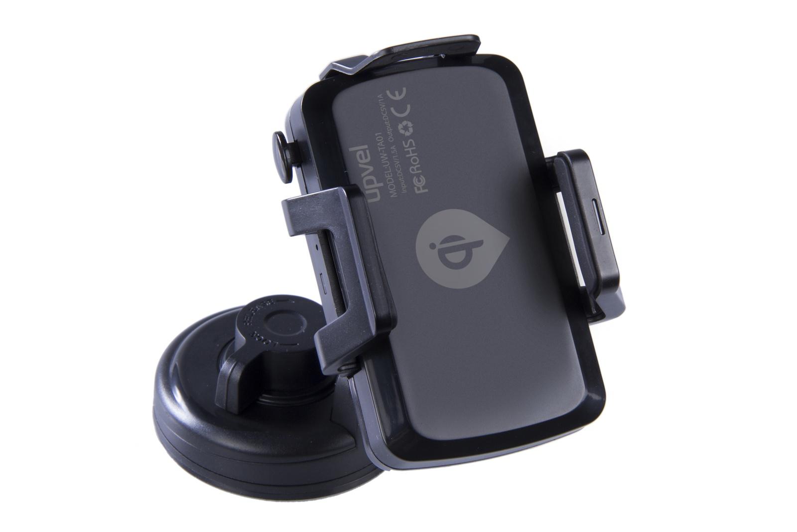 UPVEL UQ-TA01 Stingray, Black автомобильное беспроводное зарядное устройство стандарта Qi все цены
