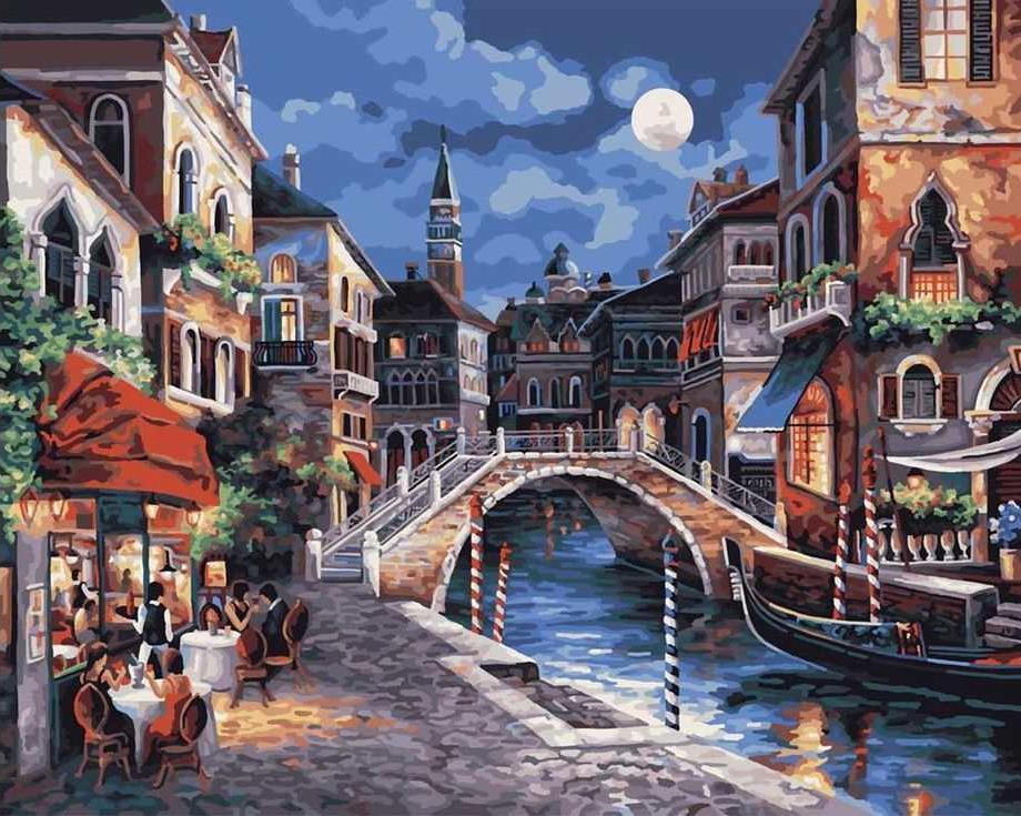 Картинка с венецией нарисованная, смешной спецназ