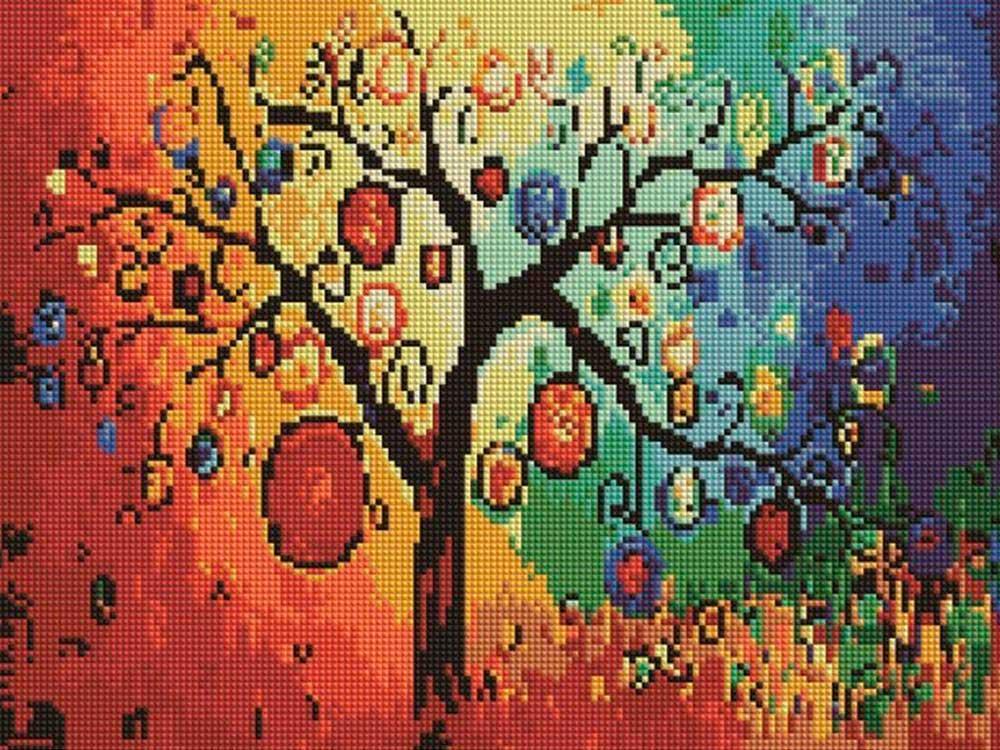 Алмазная мозаика Painting Diamond Денежное дерево, 30х40см цена