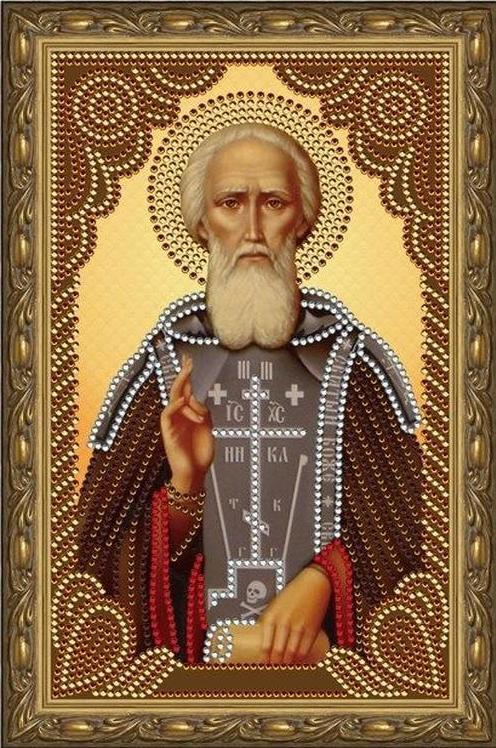Алмазная мозаика Painting Diamond Святой преподобный Сергий Радонежский, 20х30см святой преподобный сергий радонежский
