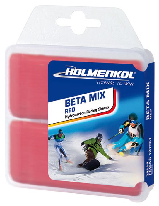 Парафин Holmenkol Betamix, 24114, красный, 35 г х 2 шт
