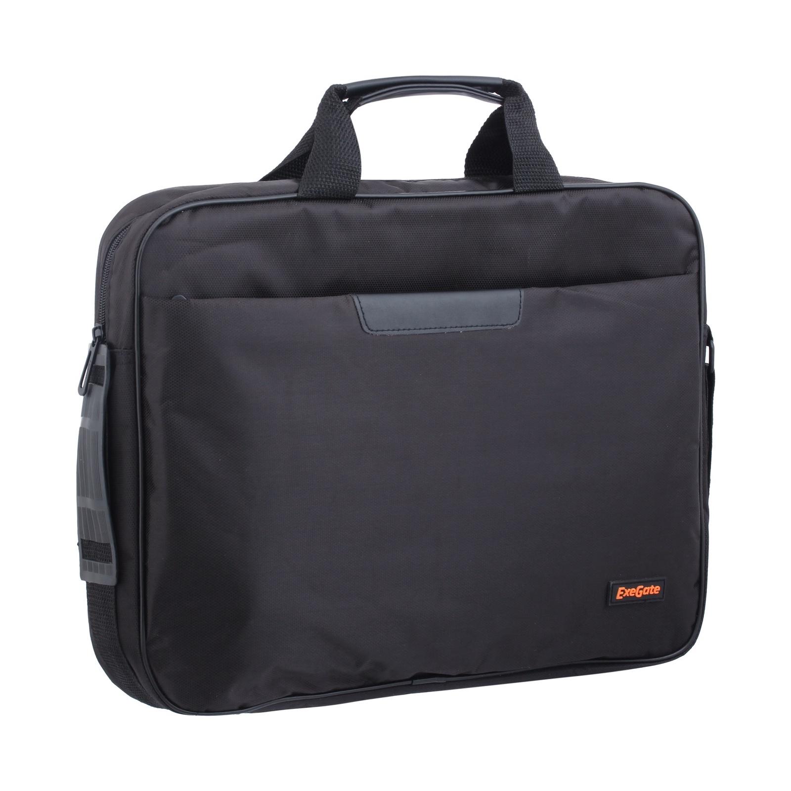 Сумка Exegate Office F1595 Black, черная, полиэстер, для ноутбуков до 15.6 аксессуар сумка 15 6 exegate office f1595 black