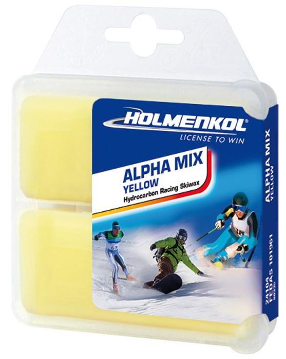 Парафин Holmenkol Alphamix, 24104, желтый, 35 г х 2 шт