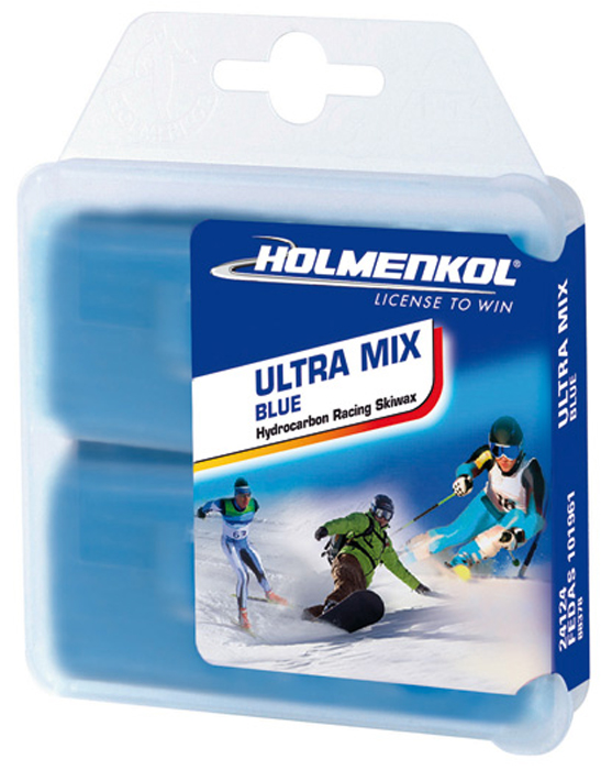 Парафин Holmenkol Ultramix, 24124, синий, 35 г х 2 шт