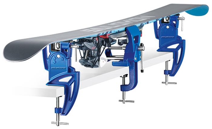 Аксессуар для лыж и сноубордов Holmenkol Тиски SuperProPlus Wide, для горных лыж, 90-155мм, 24428
